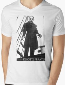 Knottsferatu Mens V-Neck T-Shirt