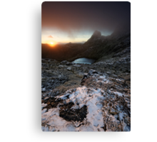 Cradle Valley Sunrise Canvas Print