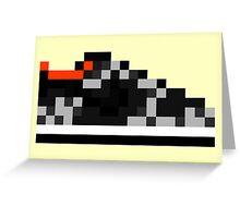8-bit Kicks (Supreme) Greeting Card