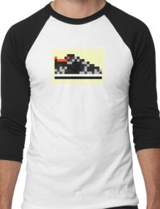 8-bit Kicks (Supreme) Men's Baseball ¾ T-Shirt