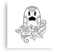Diglett de los Muertos   Pokemon & Day of The Dead Mashup Canvas Print