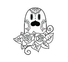 Diglett de los Muertos | Pokemon & Day of The Dead Mashup Photographic Print