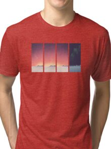 SUNRISE - Winter Sun Tri-blend T-Shirt