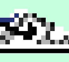 8-bit Kicks (Supreme) by pixelfart