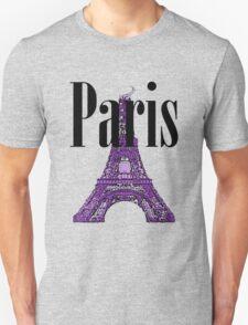 Paris, France - Eiffel Tower Unisex T-Shirt