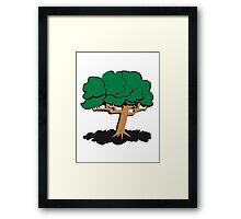 gnarled tree Framed Print