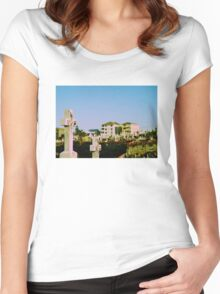 Suburban Afterlife Women's Fitted Scoop T-Shirt