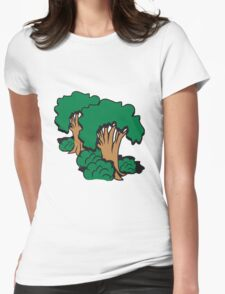 tree group old Womens Fitted T-Shirt