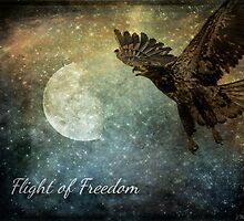 Flight Of Freedom - Image Art by Jordan Blackstone