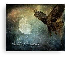 Flight Of Freedom - Image Art Canvas Print