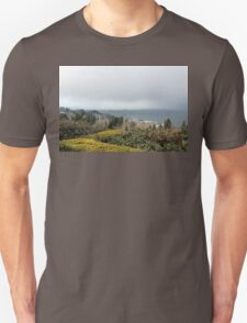 view from the Astoria Column Astoria–Megler Bridge 3 Unisex T-Shirt