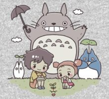 totoro plant One Piece - Long Sleeve