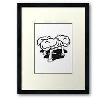 tree group Framed Print