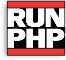RUN PHP Canvas Print