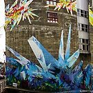 Crystal Color - Street Mural by Honario