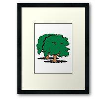 big shady tree group Framed Print
