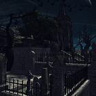 Church Graveyard by tikirussy