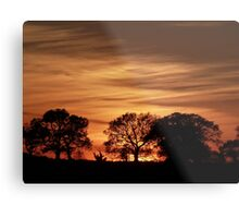 Norfolk Sunset Metal Print
