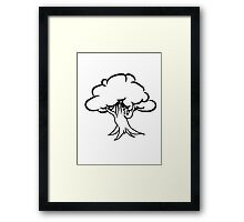 great gnarled tree Framed Print