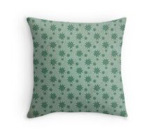 Patterns in the Ice Throw Pillow