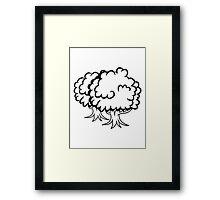 big tree group Framed Print