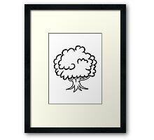 big tree Framed Print