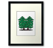 tree Alder Group Framed Print