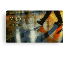 Major steps Canvas Print
