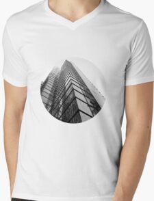 Skyscraper Mens V-Neck T-Shirt