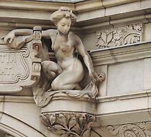 Woman On a Leash by Alexandra Lavizzari