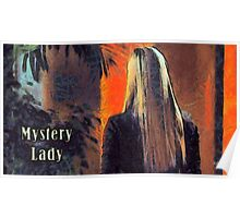 Mystery lady Poster