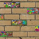 Just another brick in the wall + 5 by David Fraser