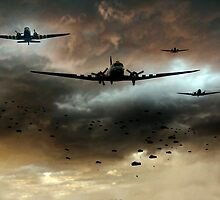 Normandy Invasion by James Biggadike