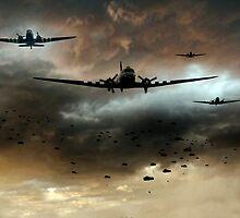 Normandy Invasion by J Biggadike