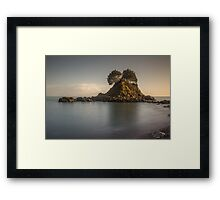 Bouley Bay by Jean Lelliott Framed Print