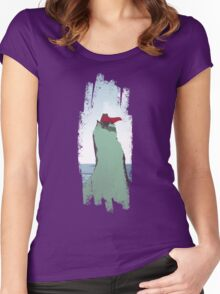 Monster Yell pt2 Women's Fitted Scoop T-Shirt