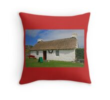 Harry Kelly's Cottage Throw Pillow