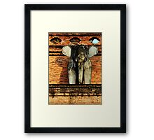Anchient Elephant  Framed Print