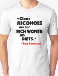 Clear Alcohols Unisex T-Shirt