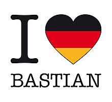 I ♥ BASTIAN Photographic Print
