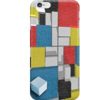 3D Piet Mondrian/Van Doesburg De Stijl iphone case Cover For iPhone 5/5S iPhone Case/Skin
