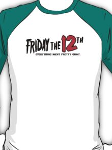 Friday The 12th T-Shirt