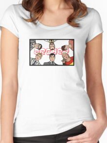 Archer Team Women's Fitted Scoop T-Shirt