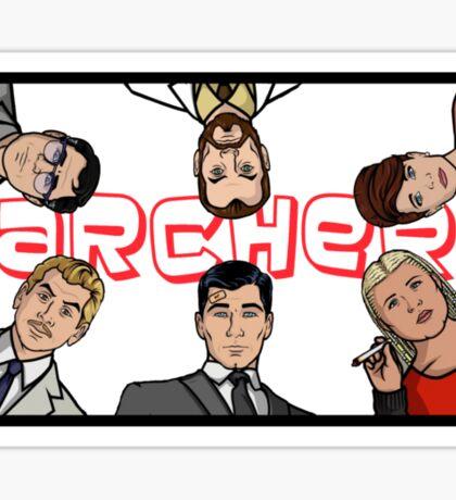 Archer Team Sticker
