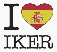 I ♥ IKER by eyesblau