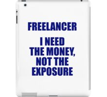 Freelancer iPad Case/Skin