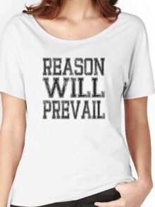 Reason! Will! Prevail! Women's Relaxed Fit T-Shirt