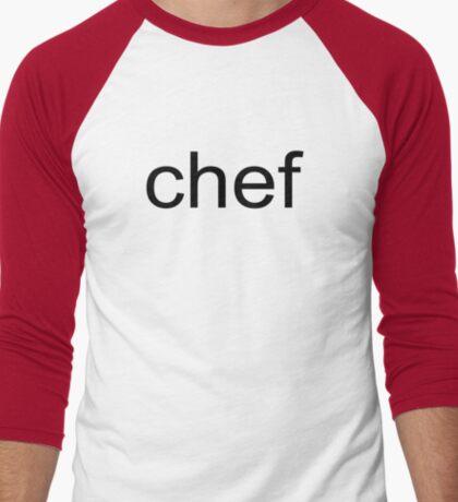 SP - Chef Men's Baseball ¾ T-Shirt