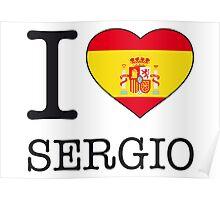 I ♥ SERGIO Poster