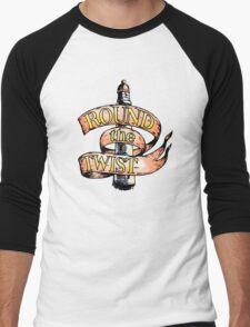 Round The Twist Men's Baseball ¾ T-Shirt